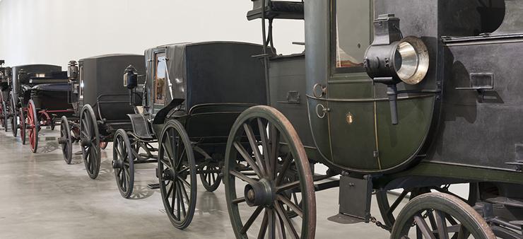Imagem de detalhe de Coches no Museu dos Coches